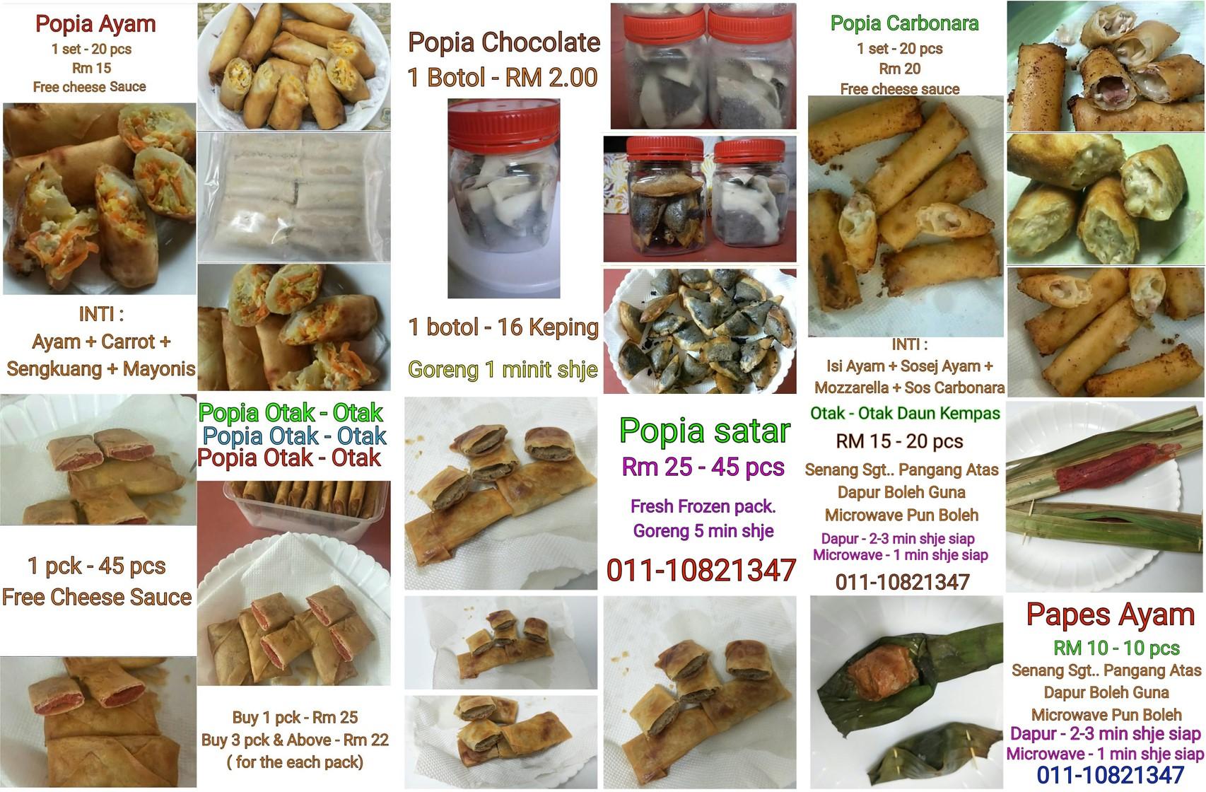 Kuih Raya Frozen Popia Ampang Jaya, Platform, Pusat, Membina, Bina, Website, Peniaga, e-PKS, Atas-talian, Online